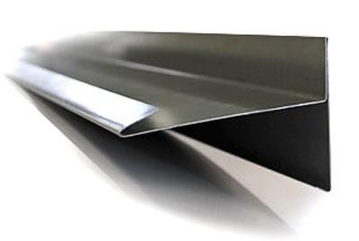 Wurzelprofil Ortgang Aluminium