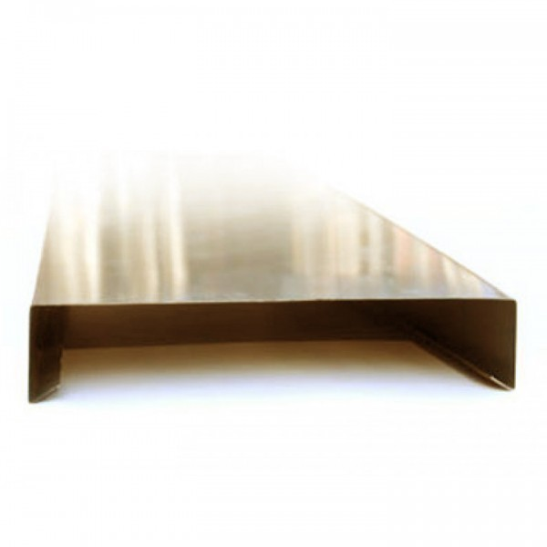 Attika / Mauerabdeckung Kupfer